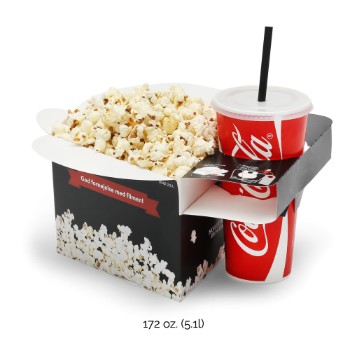 Tablebox Popcorn Combo Holder