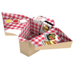 Tablebox for dining on the go