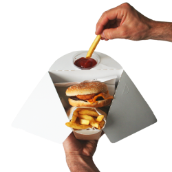Tablebox Fries with dip Holder