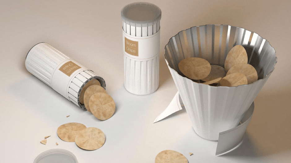 Tablebox Creative packaging potato chips