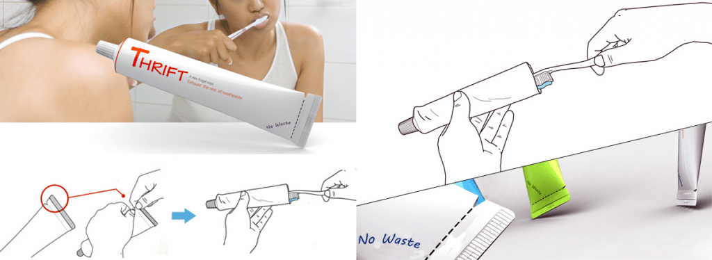 Creative Packaging blog toothpaste